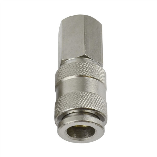 """EURO Air Line Hose Compressor Fittings Connector Female Quick Release 2 PACK 1/4"""""""