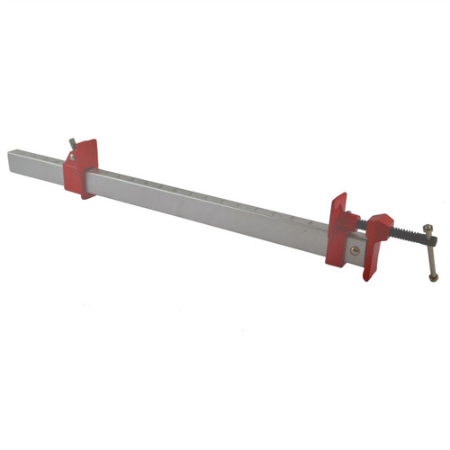 "24"" (600mm) Aluminium Sash Clamp Grip Bench Work Holder Vice Slide Cramp SIL222"