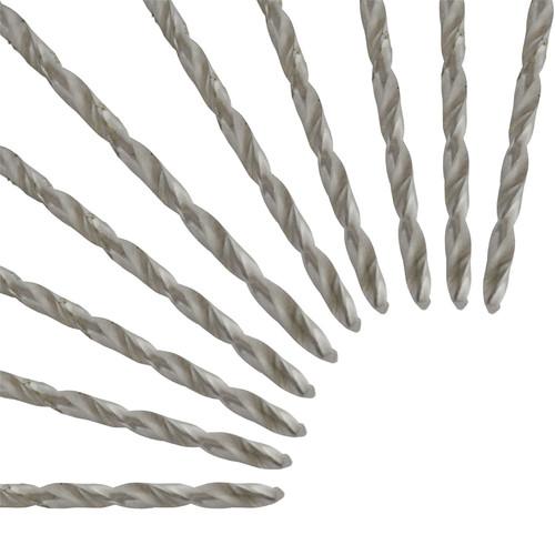 10pc Metric HSS-R Drill Set Long Series 4 x 119mm Jobber Bits Drills SIL229