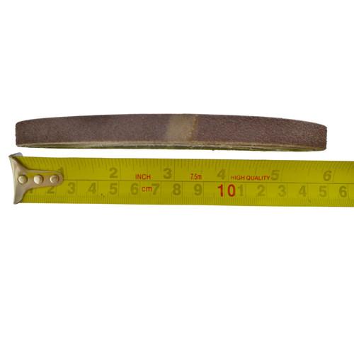 Belt Power Finger File Sander Abrasive Sanding Belts 330mm x 10mm 80 Grit 5 PK