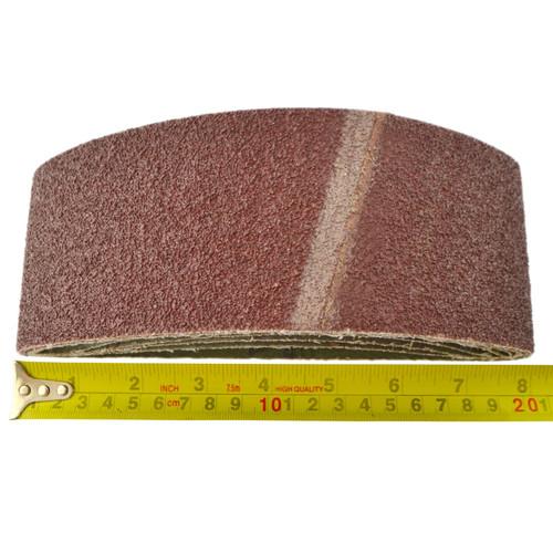 Belt Power Finger File Sander Abrasive Sanding Belts 457mm x 75mm 40 Grit 20 PK