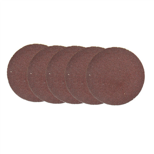 5pk Flap Disc Set 50mm Twist Button Abrasive Discs Sanding 120 Grit SIL233