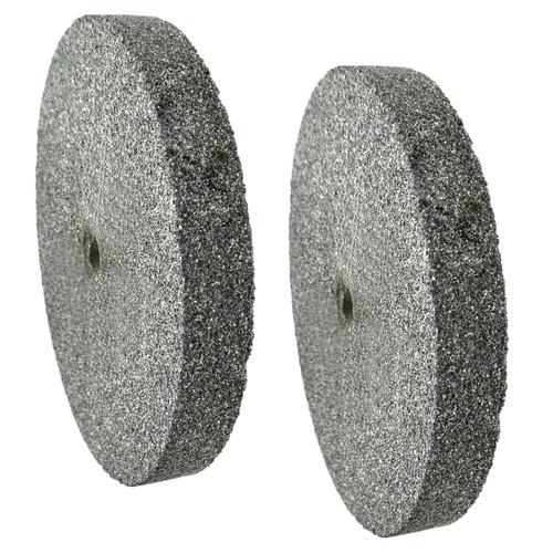 "6"" (150mm) Coarse & Fine Grinding Wheel Bench Grinder Stone 36 & 60 Grit"