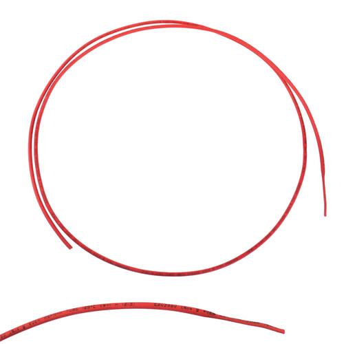 Electrical Heatshrink Tubing Sleeving Waterproof Red 1.5mm x 0.5 Metre