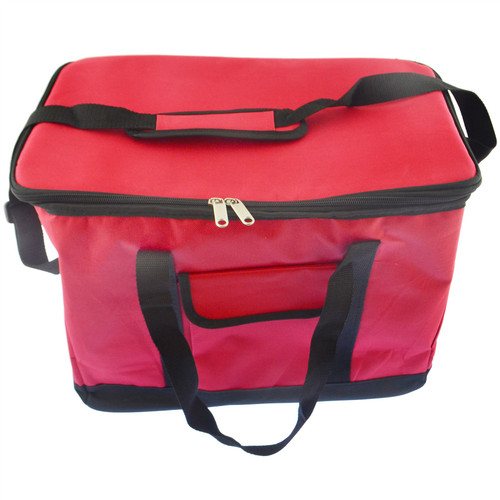 30L Cool Bag With Strap Ice Cooler Picnic Pizza Delivery Hot Food Carrier Camping