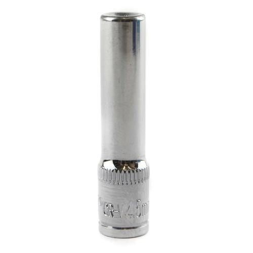"""4.5mm 1/4"""" Drive Double Deep Metric Socket Single Hex / 6 sided Bergen"""