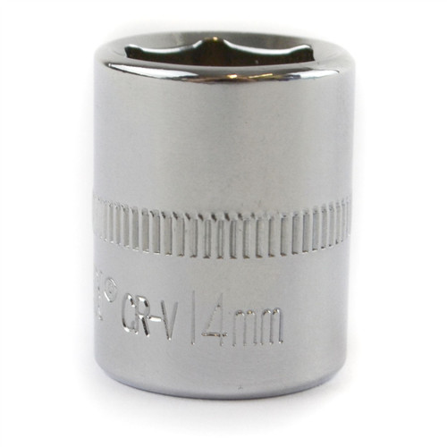 "14mm 1/4"" Drive Shallow Metric Socket Single Hex / 6 sided Bergen"