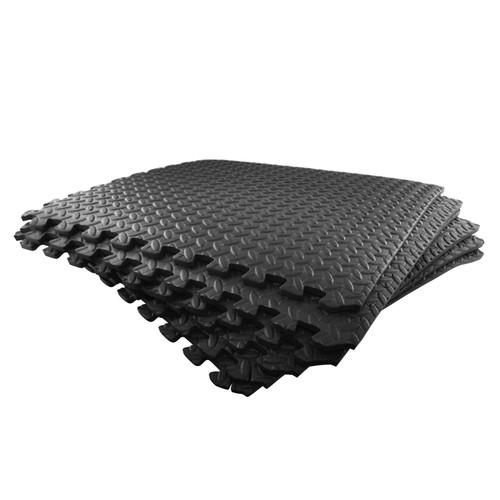 6pc Anti Fatigue Foam Flooring Matting Floor Covering Gym Mat Home Office TE820