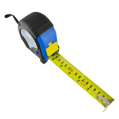 10m 32ft Tape Measure Measuring Ruler Metric Imperial Rubber Coated TE812