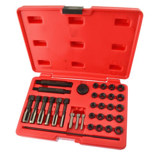 Glow Plug Cylinder Head Metric Thread Repair Kit 8mm / 10mm / 12mm 33pcs