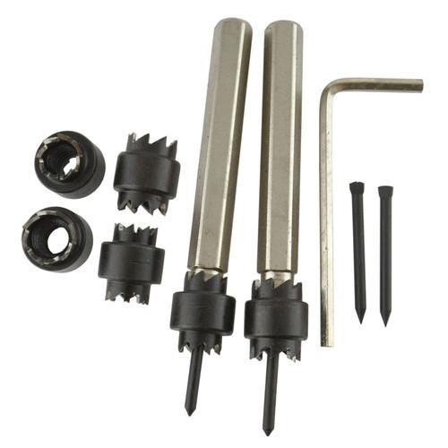 "9pc Master Spot Weld Cutter Set Removal Cutting Welding 3/8"" & 5/16"" Drill TE857"