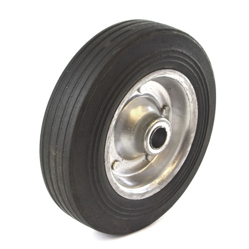 "8"" (200mm) Steel Replacement Jockey Wheel Tyre Tire Trailer 19mm Bore TE929"