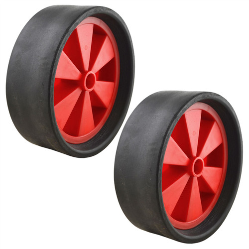 "Dinghy Boat Launch Trolley Wheels 10"" Sand Hopper Solid Rubber Tyre x 2 (Pair)"