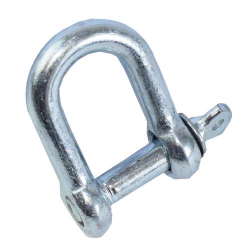 6pc 8mm D-Shackle Towing U Loop Chandelry Bow Shackle Hoop Eyelet TE966