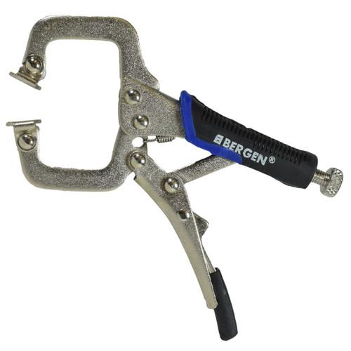 """Welding Clamp Fast Quick Release Fastener C Clamp 125mm 5"""" Bergen"""