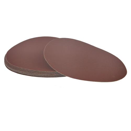 Hook/Loop Sanding Abrasive Discs Orbital Palm Sander 10PK 180mm P320 SIL353