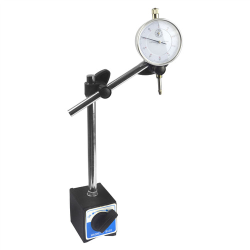 Dial test indicator DTI gauge & magnetic base stand clock gauge TDC BERGEN