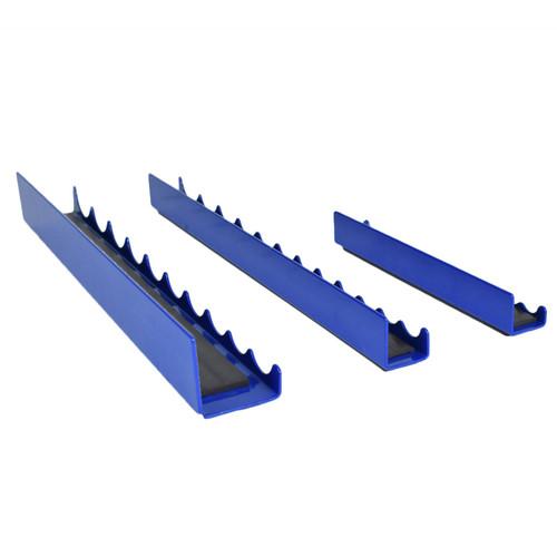 3pcs Magnetic Strip Rail Socket Holder Storage Tray 1/4 inch 3/8 and 1/2 Sockets