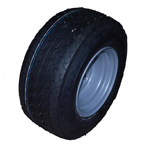 16.5/6.50 - 8 Trailer Tyre Wheel Rim 100mm PCD 6PLY 4 Stud 72M TRSP46