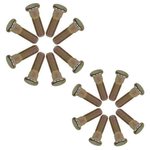 "Pack of 16 3/8"" UNF Wheel Studs Stud For 4"" PCD Trailer Suspension Hubs Hub"
