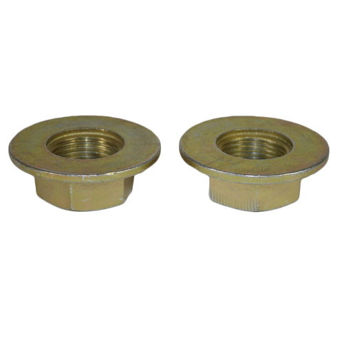 2 Alko Axle Axles Trailer Brake Drum Hub Nut One Shot 27mm x 2.0mm M27