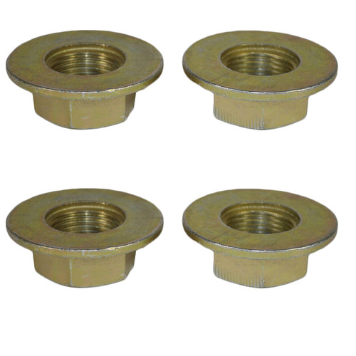 4 Alko Axle Axles Trailer Brake Drum Hub Nut One Shot 27mm x 2.0mm M27