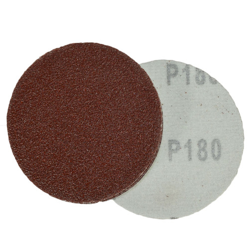 "100pk Hook And Loop DA Sanding Grinding Abrasive Pad Mixed Grit 3"" 75mm"