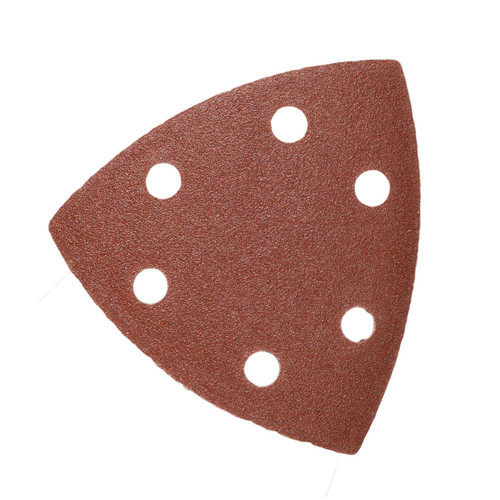 Hook And Loop Sanding Abrasive Discs Pads 90mm Triangular 10pk Mixed Grit