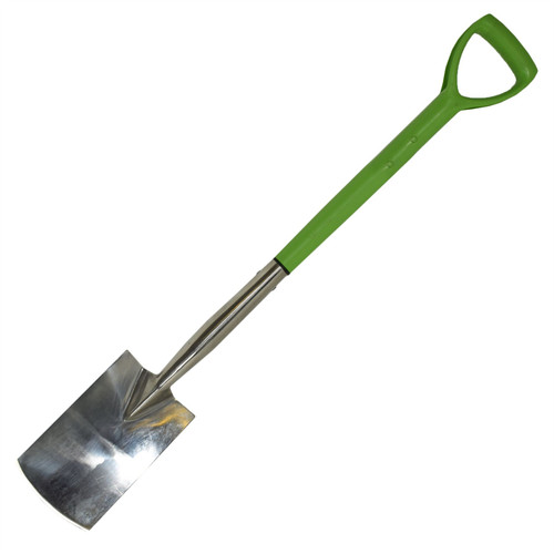 Stainless Steel Border Spade Shovel Scoop Gardening Builders 94 x 15cm