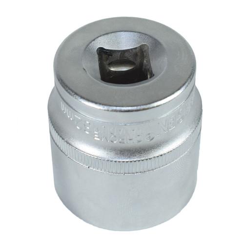 "1/2"" Drive 32mm Metric Super Lock Shallow 6-Sided Single Hex Socket Bergen"