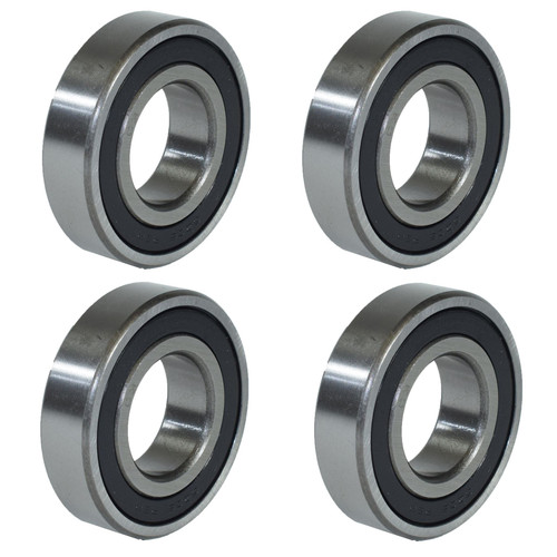 4 Metric Sealed Ball Bearings For Trailer Hubs Axles Units ID30mm OD62mm x W16mm