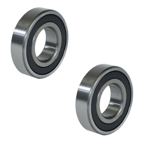 2 Metric Sealed Ball Bearings For Trailer Hubs Axles Units ID30mm OD62mm x W16mm