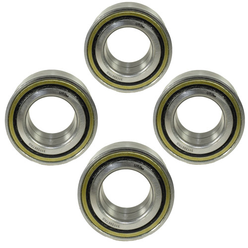 4 HD Trailer Sealed Bearing Hubs Alko 581169 Knott 45887.12 ID39 OD72 W37mm