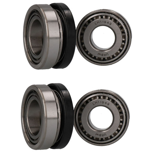 2 Trailer Roller Bearing Set Meredith Eyre 203 x 40mm Drum 11949/10 44649/10