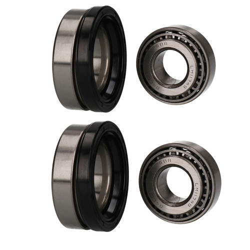 2 Trailer Taper Roller Bearing Kit ALKO 750 Unbraked Indespension Ref ISHU005