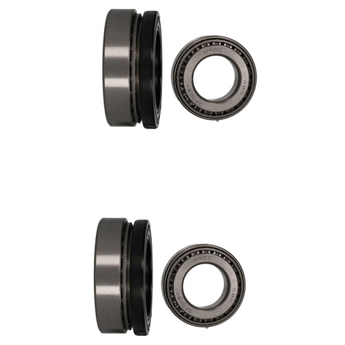 2 Trailer Wheel Hub Tapered Roller Bearings Kit For ALKO 2361 KIT 32005  32007