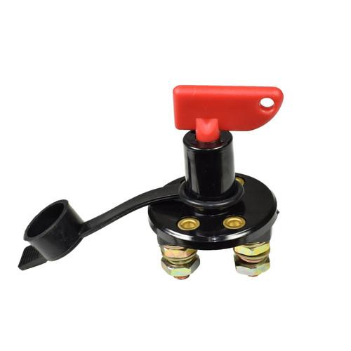 Heavy Duty Plastic Type Battery Isolator Switch / Key Cut Off Power Kill Switch