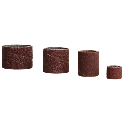"""20pc Drum Sanding Grinding Tools 4 Drums 0.5"""" – 1.25"""" And 16 Belts 80 / 120 Grit"""