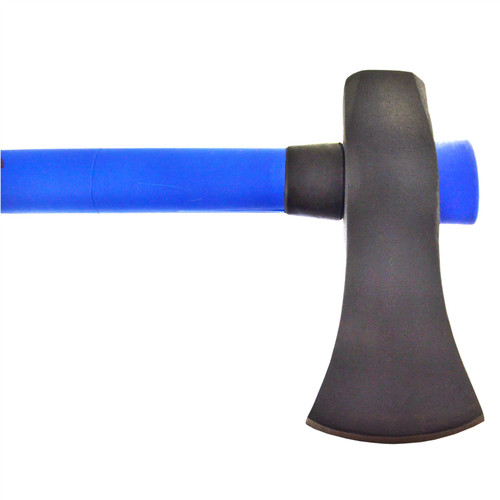 6lb Felling Axe Maul With Fibreglass Handle And 1.83kg Log Bomb Splitter Wedge