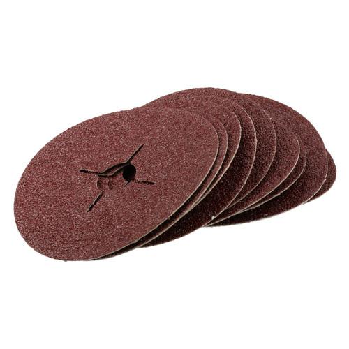 "10pc 115mm (4.5"") Fibre Discs 36 Grit Abrasive Sanding Disc Wood Metal Masonry"