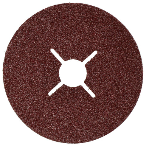 "10pc 115mm (4.5"") Fibre Discs 36 Grit Abrasive Sanding Disc Wood Metal Masonry"