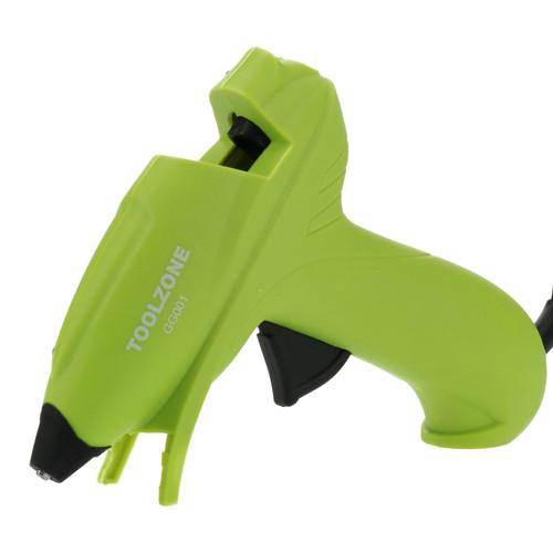 Glue Gun 10W Hot Melt Glue Heat Electric Trigger & 2 Glue Sticks Refills