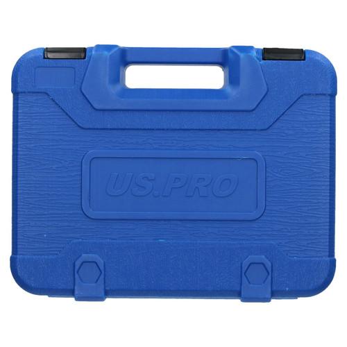 "Metric Superlock Shallow Socket And Accessory Set 3/8"" Drive 22pc US Pro Tools"