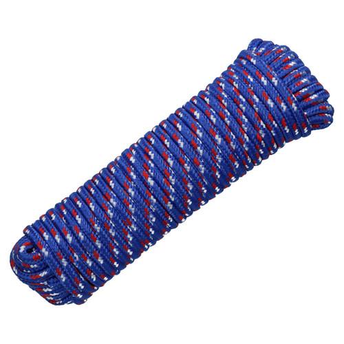 10mm x 30m Multi-Purpose Polypropylene Braided Rope for Camping Gardening