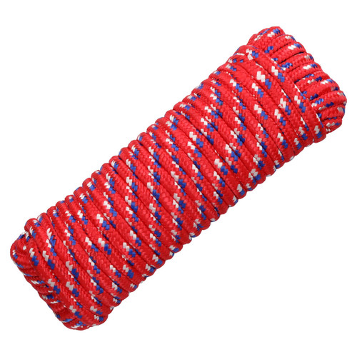 12mm x 30m Multi-Purpose Polypropylene Braided Rope for Camping Gardening