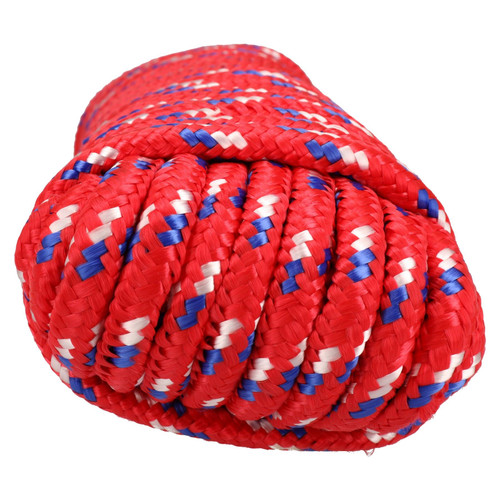 12mm x 30m Multi-Purpose Polypropylene Braided Rope for Camping Gardening