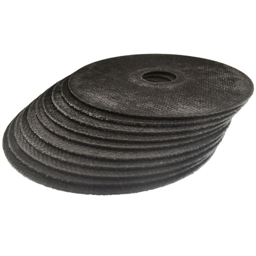 """Stainless Steel Metal Cutting Thin Discs 4.5"""" 115 x 1 x 22mm 10 Pack AT608_10Pk"""