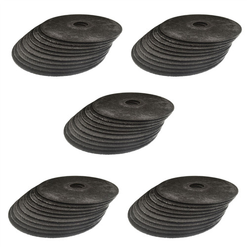 """Stainless Steel Metal Cutting Thin Discs 4.5"""" 115 x 1 x 22mm 50 Pack AT608_50Pk"""