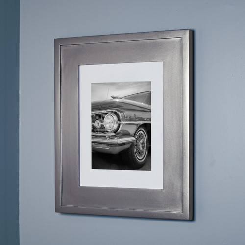 Large Silver Concealed Cabinet Recessed In Wall Medicine