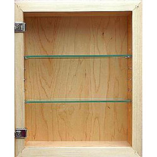 unfinished shaker style recessed medicine cabinet 14x18 recessed in wall medicine cabinets. Black Bedroom Furniture Sets. Home Design Ideas